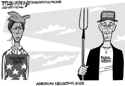 American NeoGothic 2018 by David Fitzsimmons