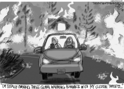 California Fires by Pat Bagley