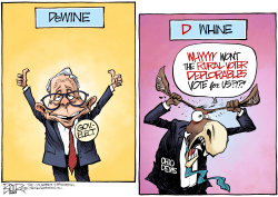 LOCAL OH DeWine Wins by Nate Beeler