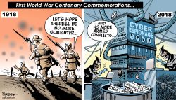 World war1 centenary by Paresh Nath