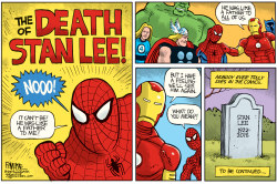 Stan Lee Obit by Rick McKee