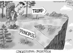 Mitt's Moral Compass by Pat Bagley