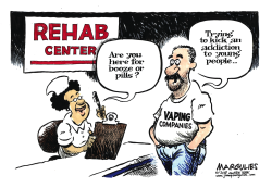 Vaping and kids by Jimmy Margulies