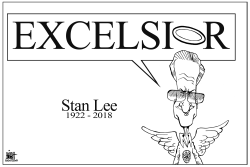 STAN LEE by Randy Bish
