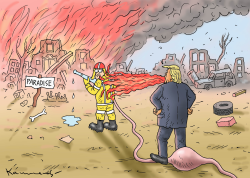 Fire Trump by Marian Kamensky