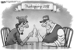 Thanksgiving 2018 Wishbone by Rick McKee
