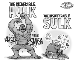 Hulk and Sulk by John Cole