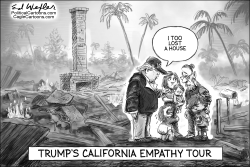 Trump California Empathy Tour by Ed Wexler