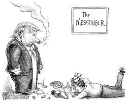 Attacking the press by Adam Zyglis