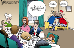 Thanksgiving and politics by Bruce Plante
