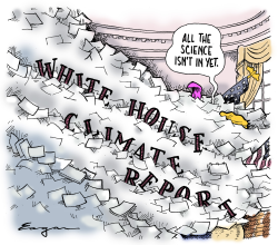 White House Climate Report by Tim Eagan