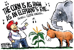 Farm Bill: The Musical by Jeff Koterba