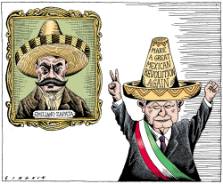 Mexican Revolution by Osmani Simanca