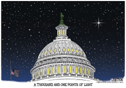 A Thousand And One Points of Light by RJ Matson
