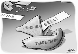 Wall Street Fortune Cookie on US China Trade Talks by RJ Matson