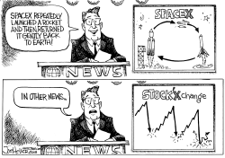 Stock Market Crashes by Joe Heller