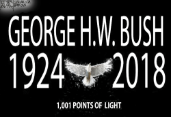 George HW Brush Tribute by Jeff Darcy