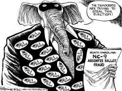 North Carolina Absentee Ballot Fraud by Kevin Siers