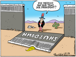 Build The Wall by Bob Englehart