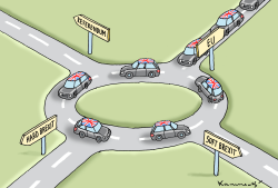 Which Way To Go by Marian Kamensky