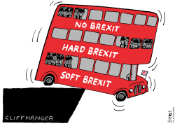 Brexit Bus by Schot