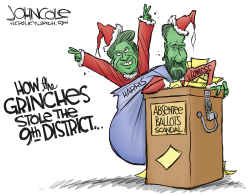 LOCAL NC 9th District Grinches by John Cole