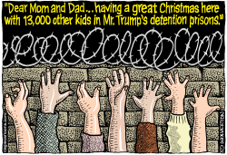 Immigrant Kids Detention Prisons by Wolverton