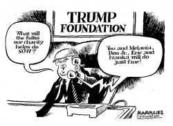 Trump Foundation scandal by Jimmy Margulies