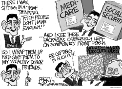 Gift of the MAGA by Pat Bagley