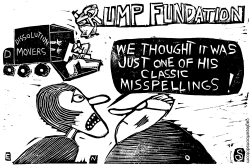 Trump Foundation by Randall Enos