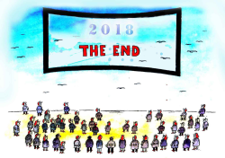 The End of 2018 by Pavel Constantin