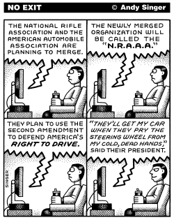 NRAAA by Andy Singer