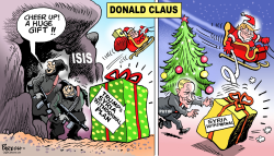 Donald Claus by Paresh Nath