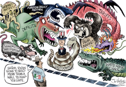 Wall Security by Joe Heller