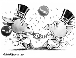 Congress New Year 2019 by Dave Granlund