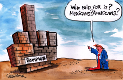 The Trump Wall by Christo Komarnitski