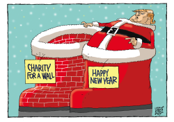 Charity for a wall by Nikola Listes