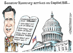 Senator Romney Capitol Hill by Dave Granlund