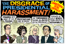 Presidential Harassment by Wolverton