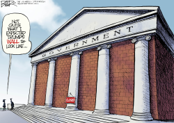 Government Wall by Nate Beeler