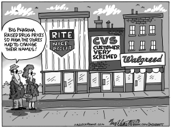 Drug Prices by Bob Englehart