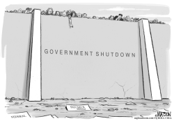 Federal Paycheck Shutdown by RJ Matson
