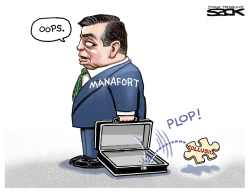 Manafort Puzzle Piece by Steve Sack