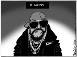 R Kelly by Bob Englehart