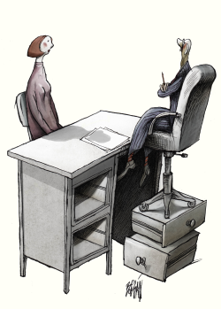 Sexism in the Workplace by Angel Boligan