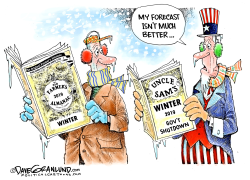 Uncle Sam's winter 2019 by Dave Granlund