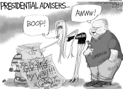Presidential Advisers by Pat Bagley