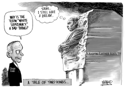 A Tale of Two Kings by Dave Whamond