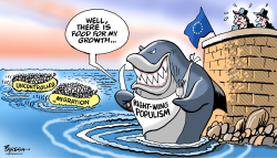 EU populism and migration by Paresh Nath