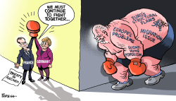 Franco-German partnership by Paresh Nath